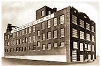 The factory in Hartford, CT, where Isadore Naboicheck began building mattresses.