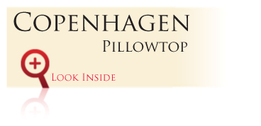 Look inside the Gold Bond Premier Series Copenhagen Pillowtop