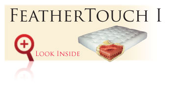 Look inside the Gold Bond FeatherTouch I Futon Sofa Sleeper Mattress
