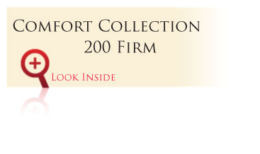 Look inside the Gold Comfort Collection 200 Firm